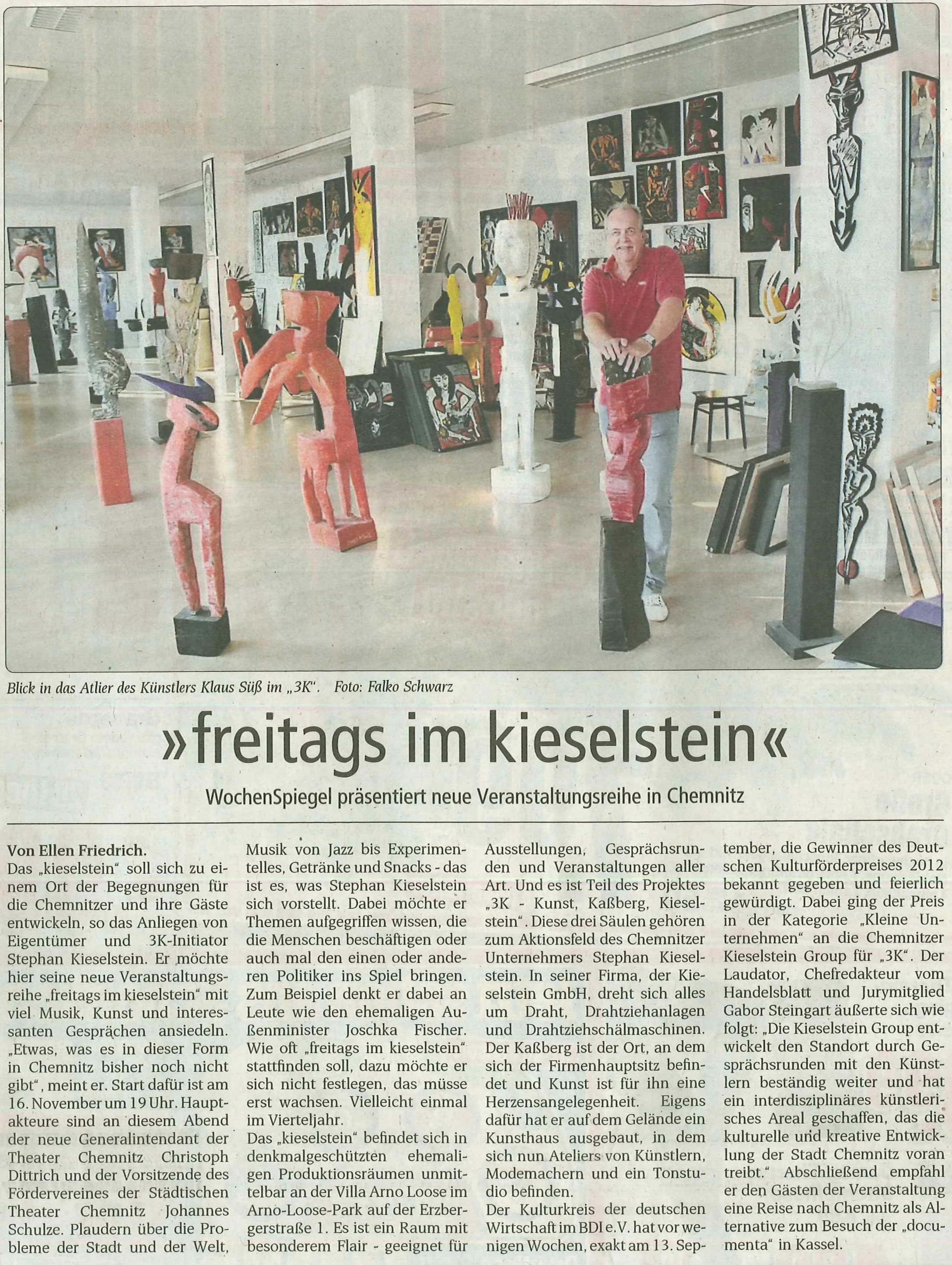 freitags im kieselstein | KIESELSTEIN International GmbH ...