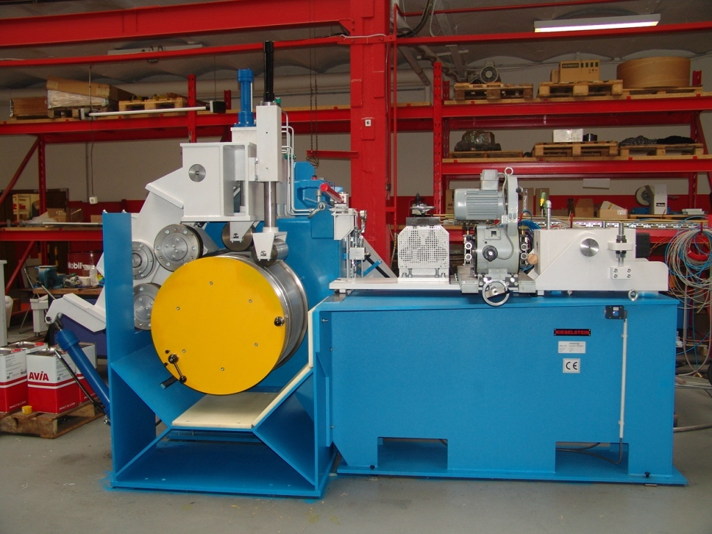 Single wire drawing machine EH - Platestahl 2009